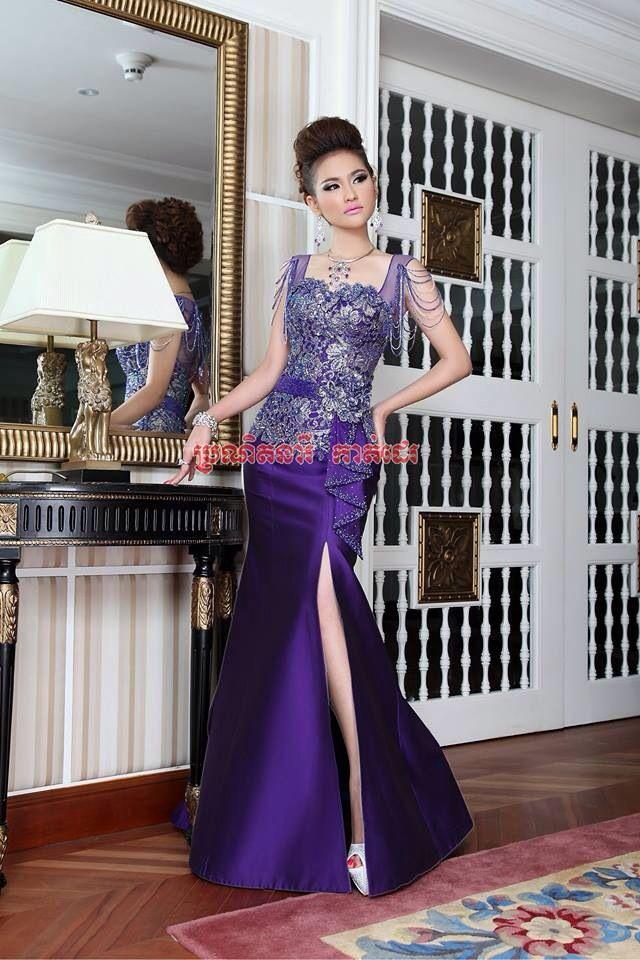 Khmer fashion dress 2018 ram