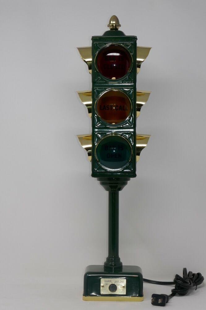 B B Traffic Signal Bar Lamp Closed Last Call Open Novelty 3 Way Light Japan Traffic Signal Lamp B B