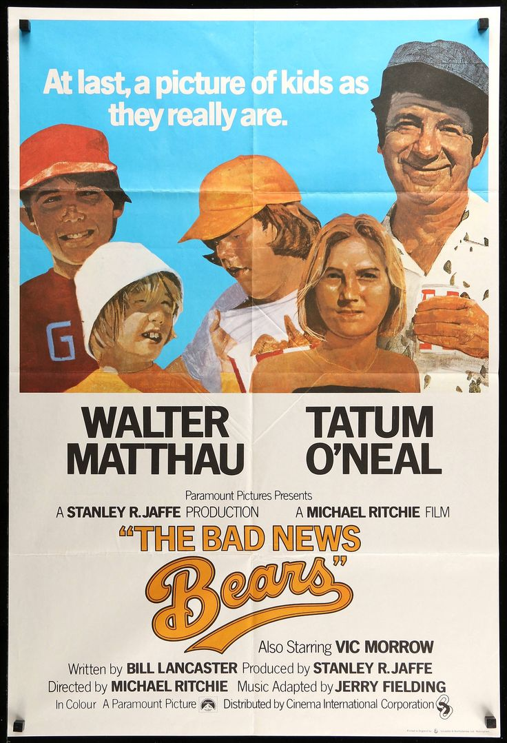 The Bad News Bears (1976) [1280 x 1876]