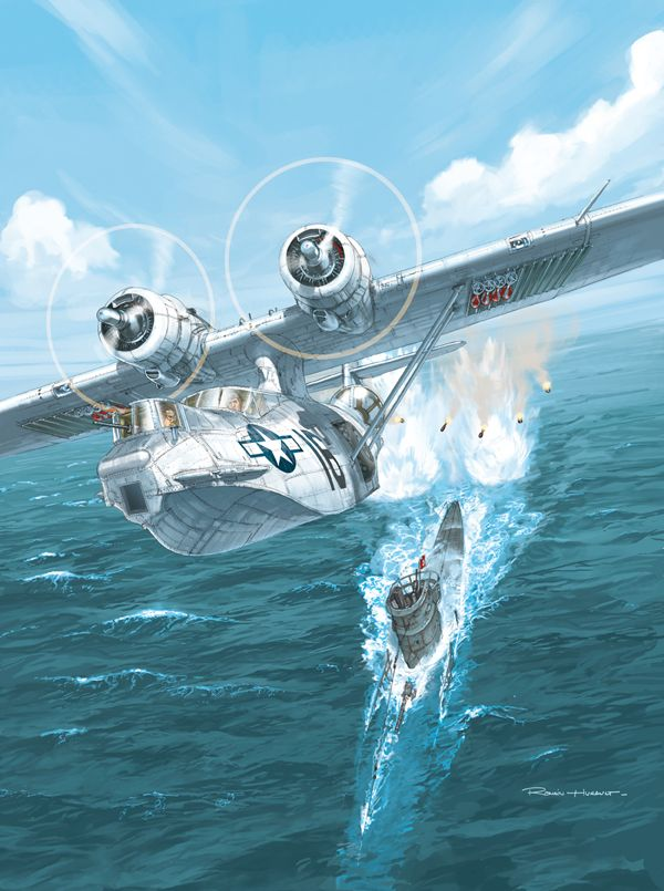 A PBY Catalina from the French magazine Le Fana de L'Aviation September 2010 edition