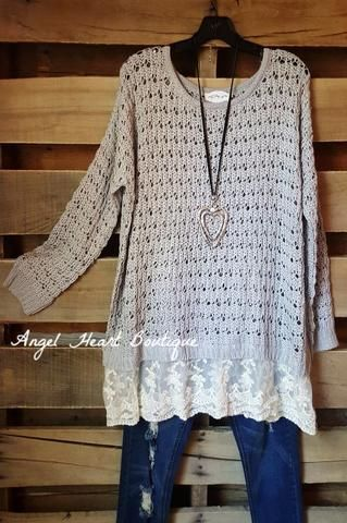 Up To Something Tunic - Multi Beige - SALE