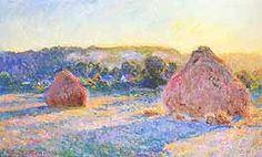 Claude Monet; Covoni, fine dell'estate effetto di sera; 1891; olio su tela; Art Institute of Chicago, Chicago.