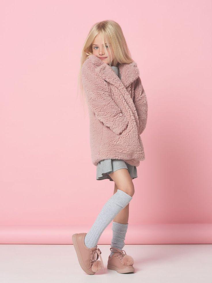 Miękkie futerko dla dziewczynki LITTLE PRINCESS, MOHITO, SI296-39X