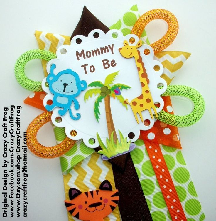 crazy craft ideas 45 best custom ordered baby shower corsages images on 1791