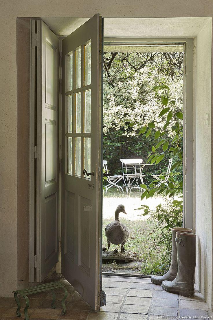 Maison du Morbihan, l'entrée