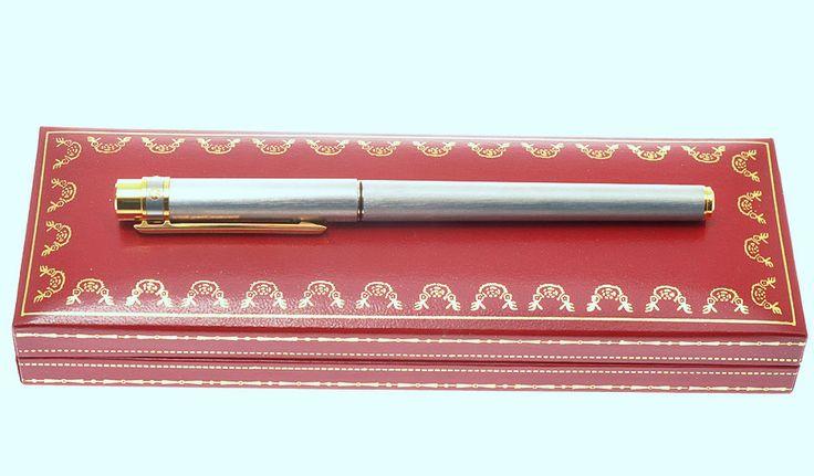 Cartier fountain pen, Must Santos #Cartier