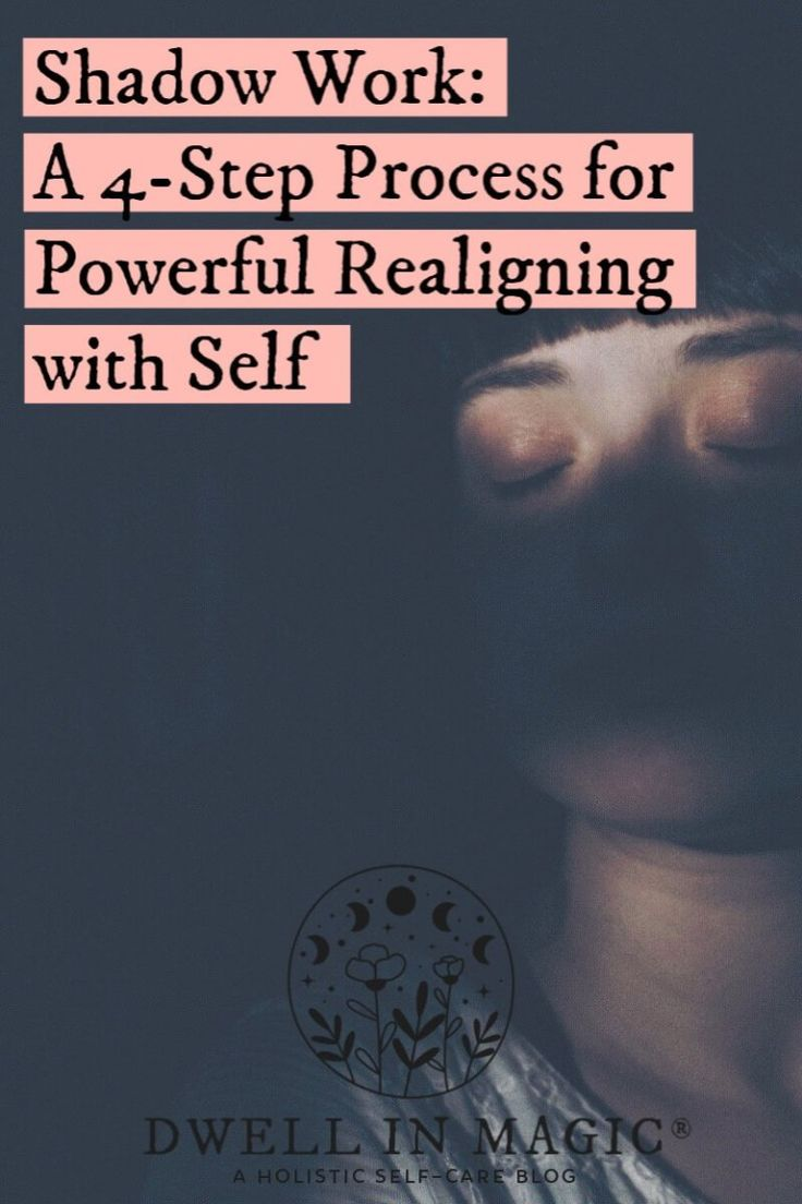 Shadow Work 4 Steps for Powerful Realigning with Self