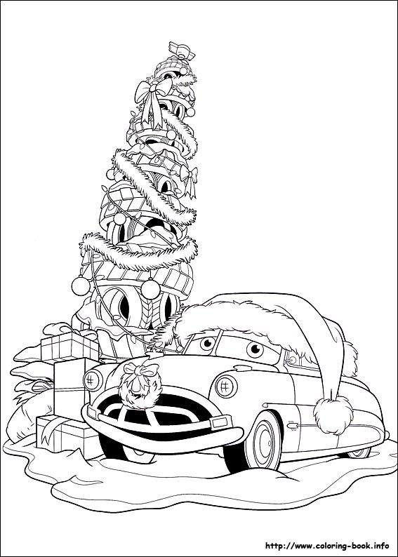 17 best images about cars on pinterest disney cars and car images - Disney Cars Christmas Coloring Pages