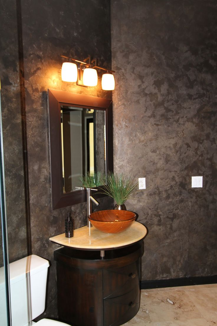 Metallic Paint Wall Finish With Modern Masters | Bath Project By Max  Monarch Meridian Studios |