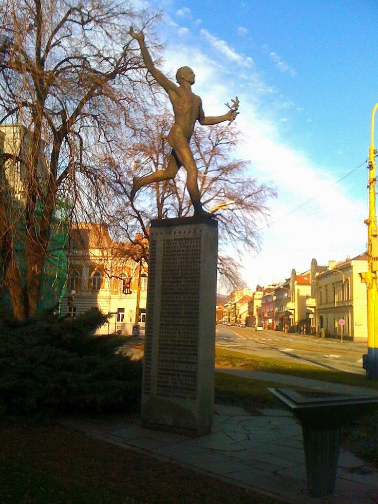 Statue of a Marathon Runner, Kosice