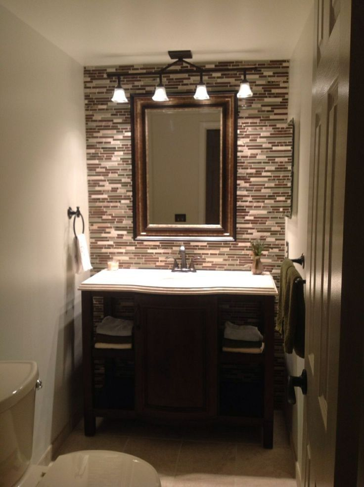 Update Your Bathroom Decor In No Time With These Affordable Cute Half Bathroom Ideas Bathroom Light Fixtures Bathroom Ceiling Light Rustic Bathroom Lighting