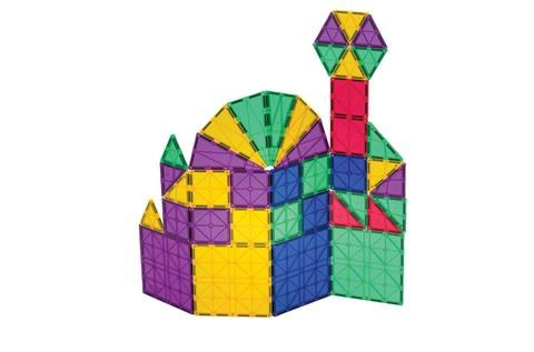 Playmags 150 Piece Magnetic Tiles Set