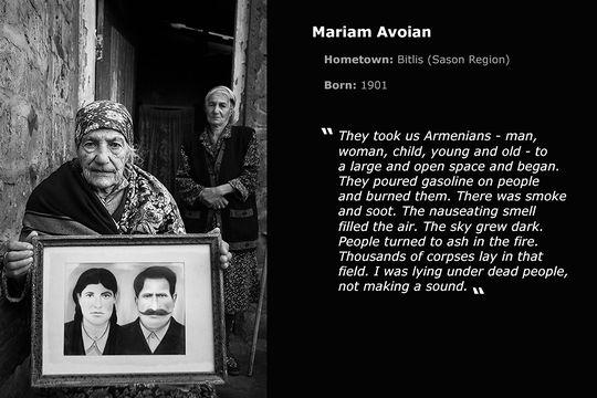 View full-size Armenia: Survivors of the Great Catastrophe Nazik Armanakyan