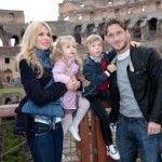 """Francesco Totti """"Minaccia"""" scherzosamente Ilary Blasi ormai incinta di 7 mesi-Il mio articolo su Gente Vip Gossip News"""