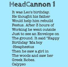 headcanons percy jackson - Google Search. I really wish