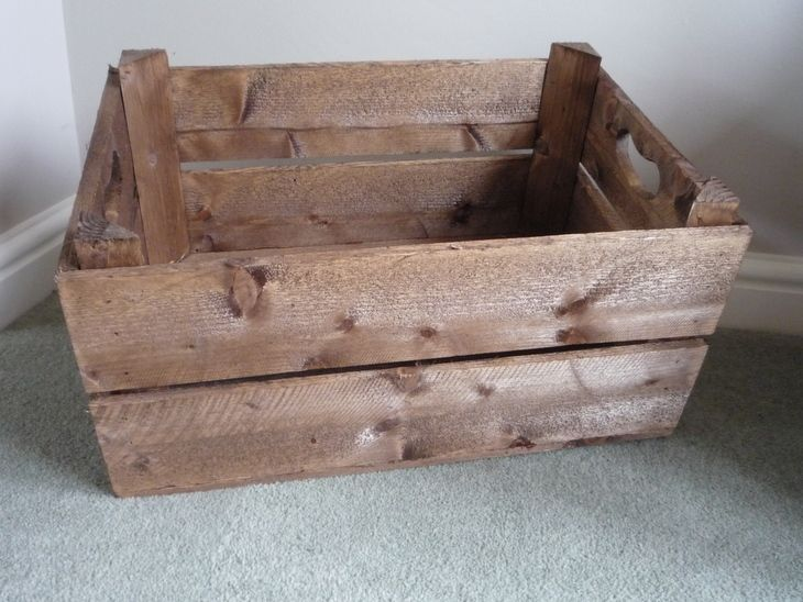 The 45 best images about old apple crates on pinterest for Apple crate furniture