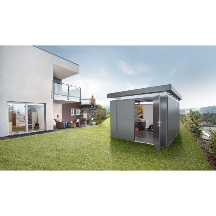 Biohort Nebengebäude CasaNova - Metallgerätehaus mit Spitzenqualität   mein-gartenshop24.de