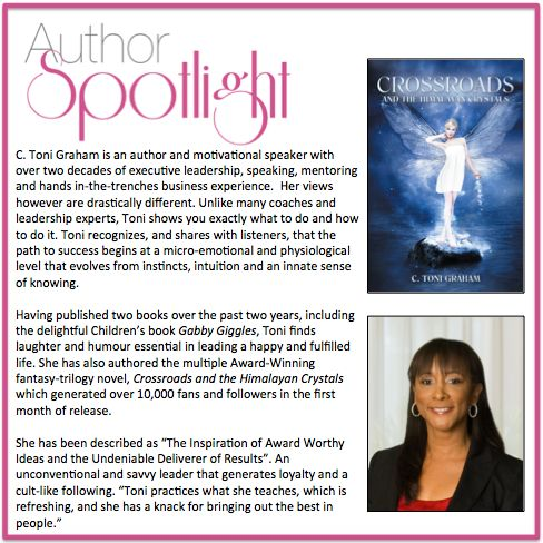 Check out this week's award winning #AuthorSpotlight: C. Toni Graham  #MotivationalSpeaker Follow her @ctonigraham