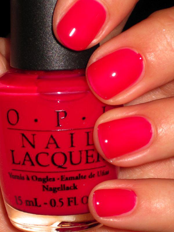 O.P.I.- Too Pink to Hold'Em