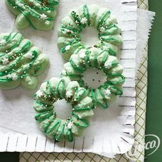 Holiday Spritz Cookies from Crisco® are a simple and delicious family favorite recipe!