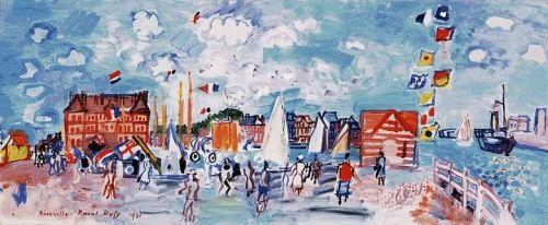 Рауль Дюфи | XIX-XXe | Raoul Dufy (103 работ) » Страница 2 » Картины, художники, фотографы на Nevsepic