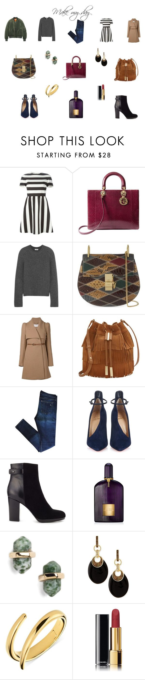 """""""Make my day"""" by mousouza on Polyvore featuring Valentino, Balenciaga, Chloé, Vince Camuto, rag & bone, Christian Louboutin, Jigsaw, Tom Ford, Nordstrom and Alexis Bittar"""