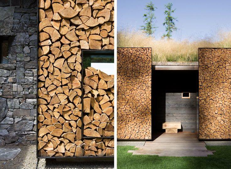 Cord Wood Wall