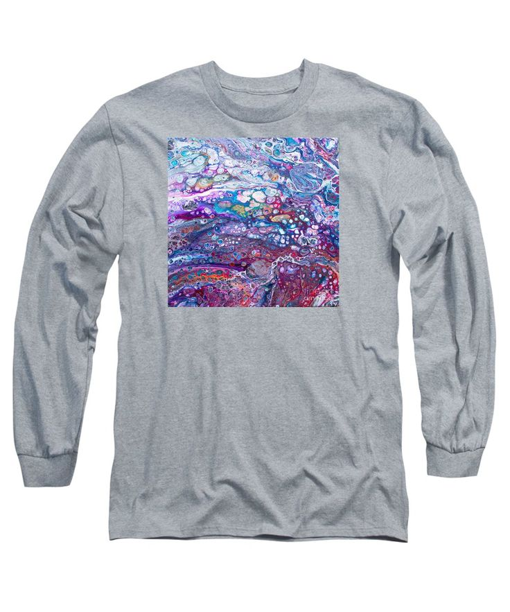 Purchase a long-sleeve t-shirt featuring the image of #694 Aromatic Rainbow by Expressionistart studio Priscilla Batzell.  Available in sizes S - XXL.  Each t-shirt is printed on-demand, ships within 1 - 2 business days, and comes with a 30-day money-back guarantee.