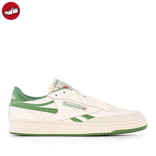 Reebok Herren V67895 Weiss/Grün Leder Sneakers - Reebok schuhe (*Partner-Link)
