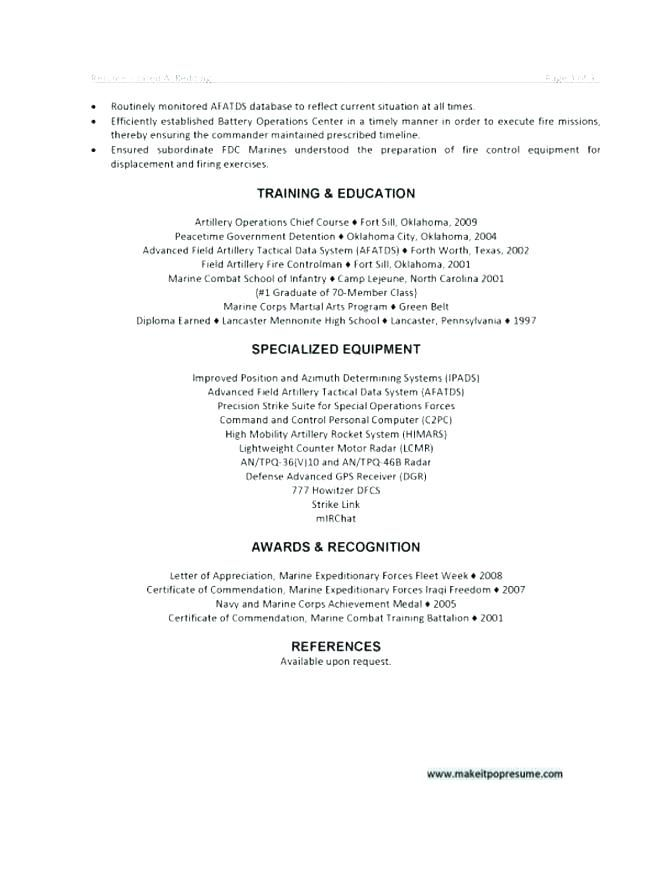 Military Veteran Resume Examples Template Fresh Acting Example Awesome