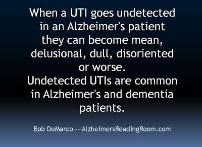 Image result for I hope It's A UTI Dementia Picture