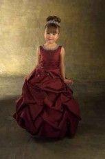 Koszorúslány ruha gyerekeknek-0010