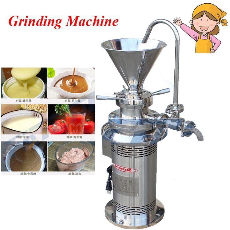 688.00$  Buy here - http://alid1r.worldwells.pw/go.php?t=32714756905 - Coating Grinding Machine Colloid Mill Sesame Colloid Mill Peanut Butter Colloid Mill Soybean Grinding Machine JML50