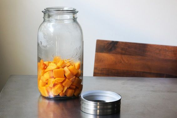 Butternut squash and chinese 5 spice infused vodka recipe! A Fall recipe that I find intriguing!