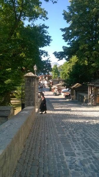 Mountainous town of Metsovo, northern Greece