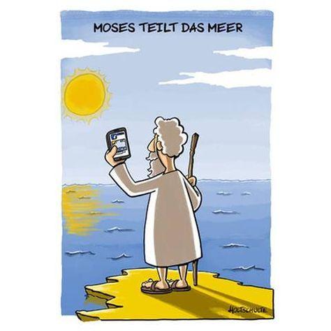 "Publikumsliebling: Michael Holtschulte ""Moses teilt das Meer"":"
