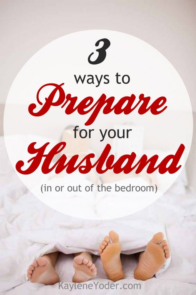 These three tips will help you be better prepared to initiate some sizzle with your husband!