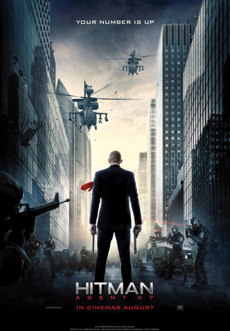 Return to the main poster page for Hitman: Agent 47