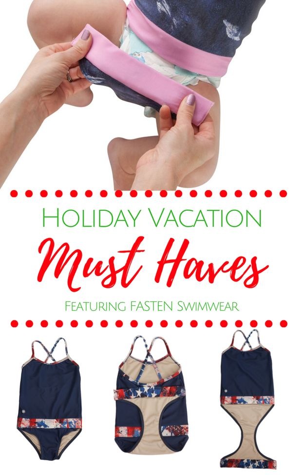 6 Must Have tips for your holiday vacation! #6 is a game changer! Don't be caught at the beach or pool with your daughter without this amazing girl's swimsuit!