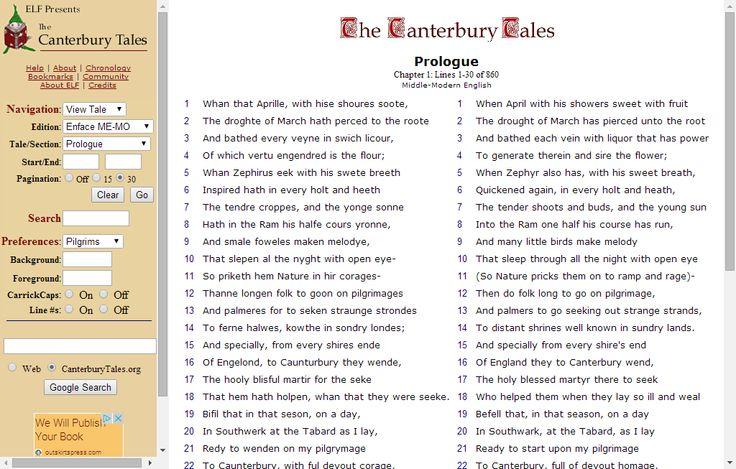 canterbury tales pdf modern english