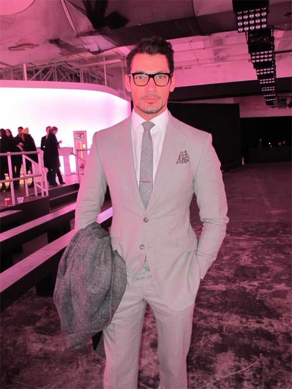 David Gandy Interview – London Collections: Men 2013