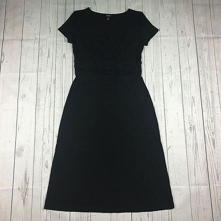 Black dress upto knees hurt