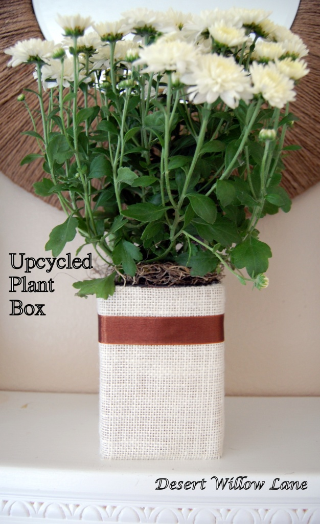 upcycled plantbox | CRAFTS - Home Decor | Pinterest