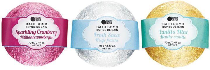 Beauty Secrets Assorted Fruit & Floral Bath Bombs