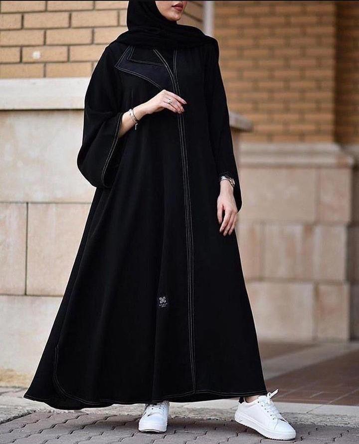 Pin By من اين لك هذا اليقين أشار On موديلات عبايات Abayas Fashion Fancy Dress Design Abaya Fashion