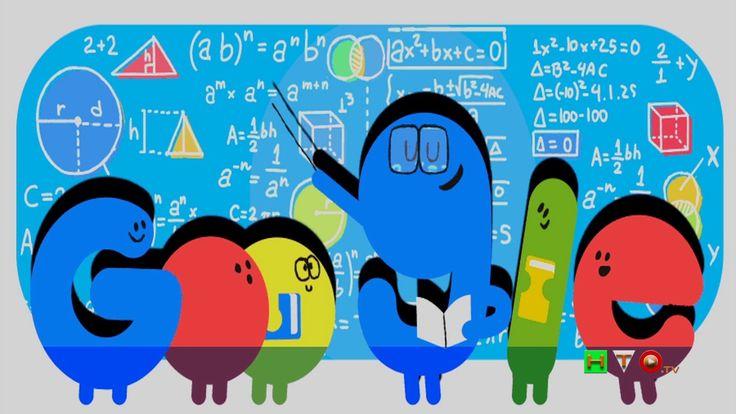Il Dodle di Google per il Teacher's Day 2017 in Ecuador - www.HTO.tv