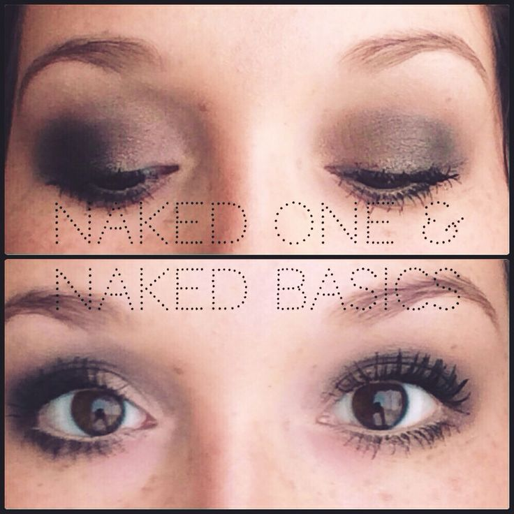 Using my naked one and naked basics pallets!