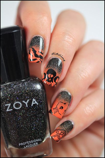 Les Ongles Infernaux - Halloween Nails ~ Didoline's Nails