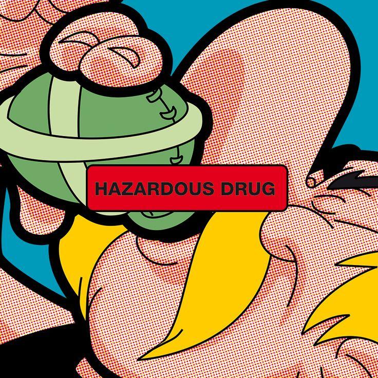 POP ICON - Hazardous Drug