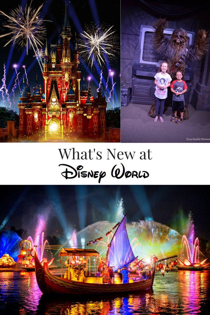 New Magical Experiences at Walt Disney World